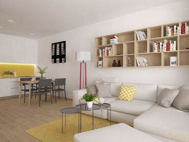2i byt v novostavbe Zelené Vlčince (D.210)