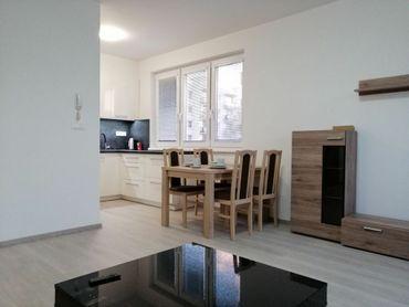 Prenájom 2 izb.bytu s terasou a parkovacím miestom v NOVOSTAVBE, 60 m2 - Zelené Vlčince, Žilina