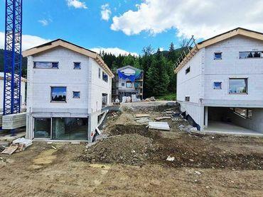 Nové chalet apartmány (B1) na Liptove, Hrabovo
