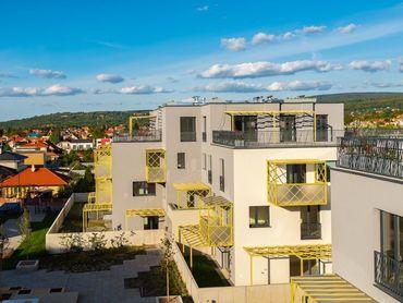 Predaj 4 izbový byt s veľkou terasou 119 m2, novostavba Kolísky, Záhorská Bystrica