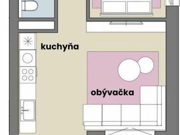 2 izbový byt v novostabe s podlahovým kúrením vo výbornej lokalite