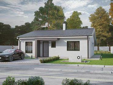 Novostavba - 4i rodinný dom 8 km od Levíc - BÝVAJTE IHNEĎ!