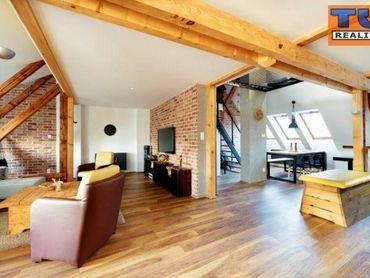 Na prenájom luxusný mezonetový byt, Nitra, Cintorinská ul.120 m2