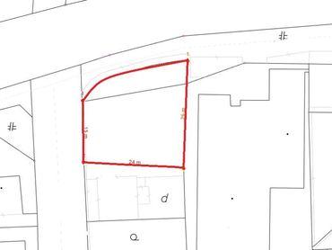 Na predaj pozemok vhodný na bytovú výstavbu v širšom centre mesta Žilina