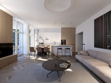 4-izbový byt v Starom Meste (130 m2)