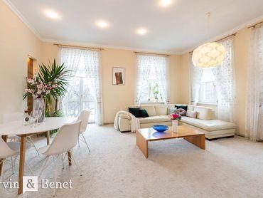 Arvin & Benet | Veľkorysý 3i charizmatický byt v centre mesta