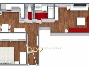 Rezervované - BpV ponúka na predaj 2 izb. byt v centre Novej Dubnice
