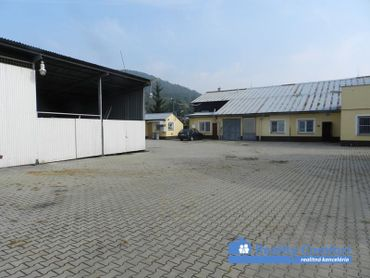 NA PRENÁJOM, výrobné, administratívne a skladové priestory, Drietoma