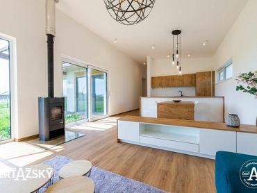 4i RD ꓲ 132 m2 ꓲ NITRA - LUŽIANKY ꓲ ekologické, ekonomické a premyslené rodinné domy