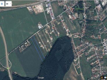 Exkluzívne PNORF –  developerský pozemok, 10 000 m2, šírka 19 m, Kynek - Nitra