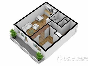 AXIS REAL:: 2-izbový byt (M4F) NOVOSTAVBA, Poprad, Suchoňova ulica