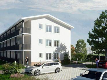 Dvojizbové byty  s parkovaním vo dvore v projekte  Nové nábrežie