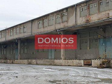 Prenájom výrob. priestorov (1.265 m2, nakl. rampa, kancel., WC, parking)