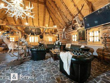 Arvin & Benet   Luxusný zrub v nádhernom prostredí