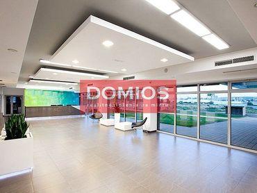 EXKLUZÍVNE | prenájom špičkového klim. kancel. celku (846 m2, 2./3. p., kuch., WC, parking)