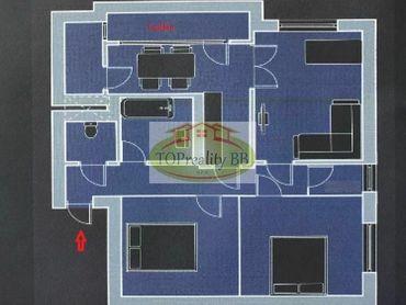 Top ponuka - Veľký tehlový  3 izbový byt, 91 m2, s lodžiou  B. Bystrica, centrum  - cena 199 900€