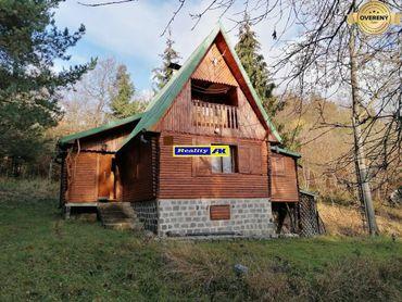 Chata na predaj Martin Stráne, prístupová cesta je autom ku chate