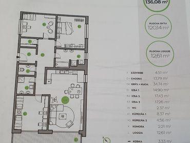Novostavba 4-izový byt v top lokalite