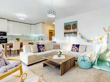 Na predaj kompletne zariadený 3-izbový byt v meste Nitra v projekte AGRIA.