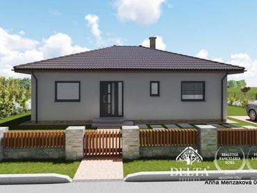 Na predaj  - výstavba -nízkoenergetický 4-izbový dom