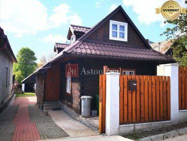 REZERVOVANÉ: Rodinný dom - chalupa, 3+1, Ružomberok - Hrboltová