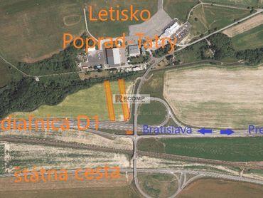 EXKLUZÍVNE! Predaj pozemkov v Poprade - Veľká pri letisku
