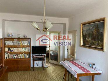Len v  REAL VISION  - Exkluzívna ponuka - 4 izbový byt v centre Popradu