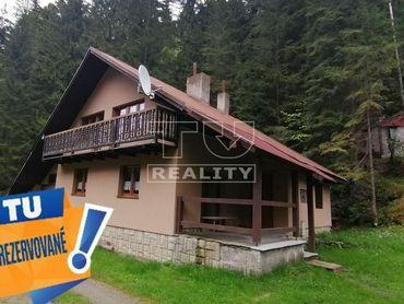 REZERVOVANÉ  predaj rekreačnej chaty na pozemku pod Donovalmi