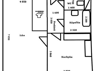 priestranný 1-izbovy byt, hodný pre pár, 6. posch.