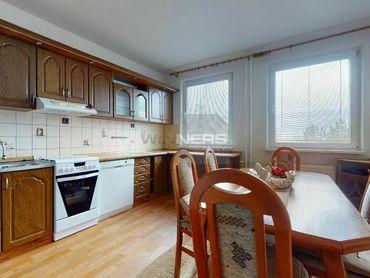 Exkluzívny predaj priestranného 2-izbového bytu v Martine, časť Záturčie