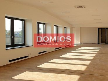 Prenájom nových klim. priestorov na fitness (346,86 m2, 1. p., parking)
