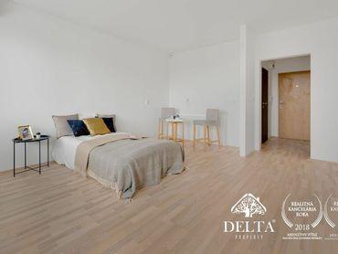 DELTA   1 izbový byt s balkónom na predaj, Bebravská, Vrakuňa - Bratislava