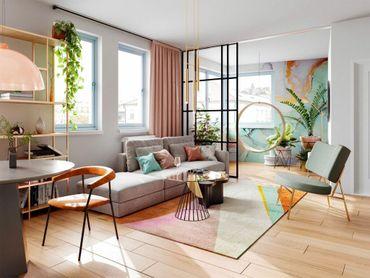 Priestranný 3-izbový apartmán s luxusným výhľadom a samostatným šatníkom