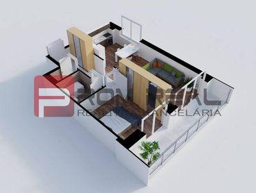 Na predaj 2 izbový byt v novom projekte Byty Rozálka Pezinok - byt 3C