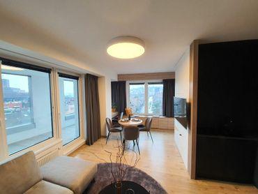 IMPREAL »»»  Staré Mesto »» Exkluzívne zariadený 2 izbový byt na 10 poschodí » novostavba PREMIERE »
