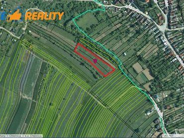 Pozemok na rekreáciu alebo stavbu chaty Chtelnica