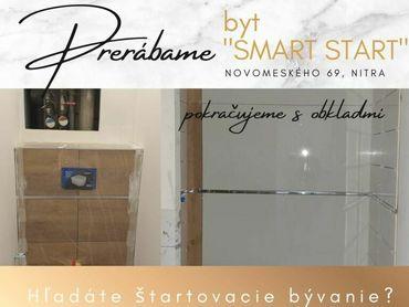 Prebieha rekonštrukcia - 1i byt ''SMART START'' - Rezervujte si ako prví