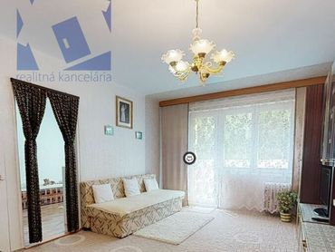 BV REAL Výmena 2 izbového bytu 58 m2 za 1 izbový byt Prievidza FM1105