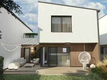 Novostavba nízkoenergetických radových domov, Stošice, Liptovský Mikuláš