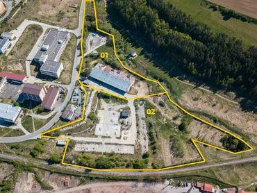 Pozemok v Levoči - lokalita Železničný riadok o rozlohe 28 821m2