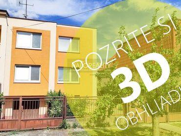 HALO reality - Predaj, rodinný dom Sereď, IBA U NÁS 3D a Video obhliadka - ZNÍŽENÁ CENA