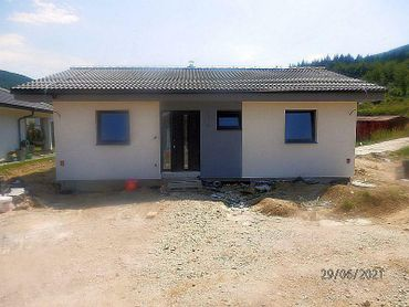 Na predaj novostavba bungalovu v Zakvášove v Považskej Bystrici