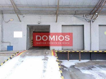 Prenájom sklad. priestorov (440 m2, vjazd. rampa, kancel., parking, E24)