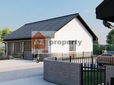 Ponúkame na predaj nový 4-izbový RD Drevodom typu bungalov s pekným pozemkom v lokalite Čierna Voda