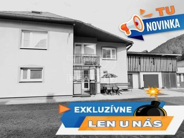 Na predaj rodinný dom na slnečnom pozemku v Liptovských Revúcach
