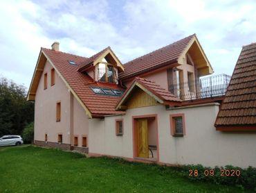 Rodinný dom v obci Hažlín , okres Bardejov