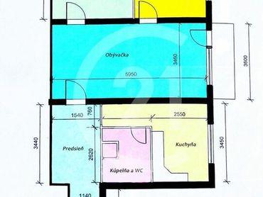 Predaj 3izb. bytu vo vyhľadávanej štvrti na skok od CENTRA mesta.