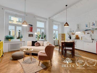 DELTA | Dizajnový 2 izbový byt v historickej budove v centre Bratislavy