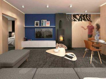 Nové chalet apartmány (B2) na Liptove, Hrabovo, Ružomberok