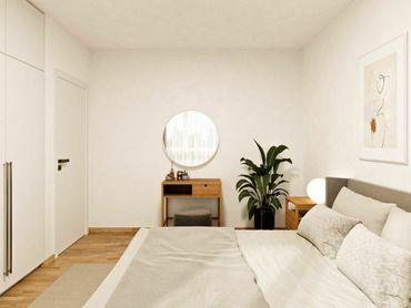 NOVÉ ZLATOVCE - B1.13 - 3-izbový byt, 76 m2, balkón, 1. poschodie/4., NOVOSTAVBA